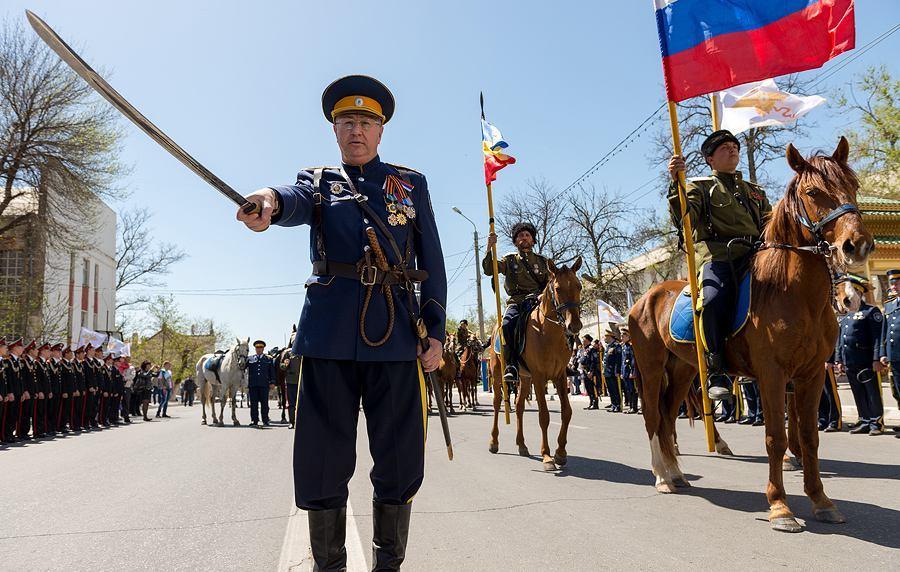 Астраханские казаки отправятся в Париж