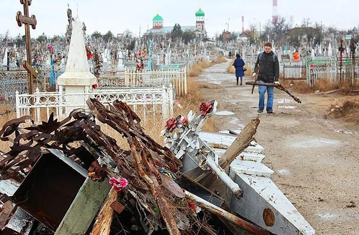 Кладбище в Астрахани хотят сделать парком