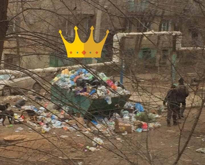 У кого больше мусора во дворе? Астраханцы меряются отходами