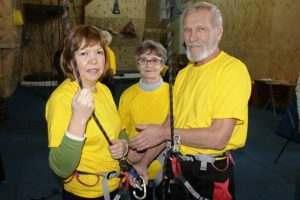 Астраханские пенсионеры посоревнуются в навыках скалолазания