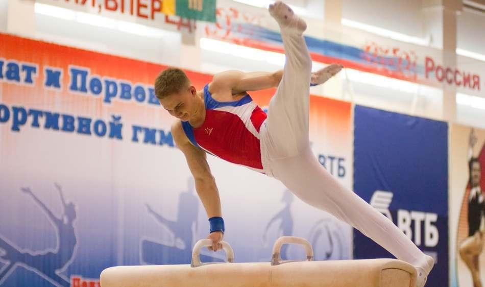 Астраханец взял серебро на Чемпионате России по спортивной гимнастике