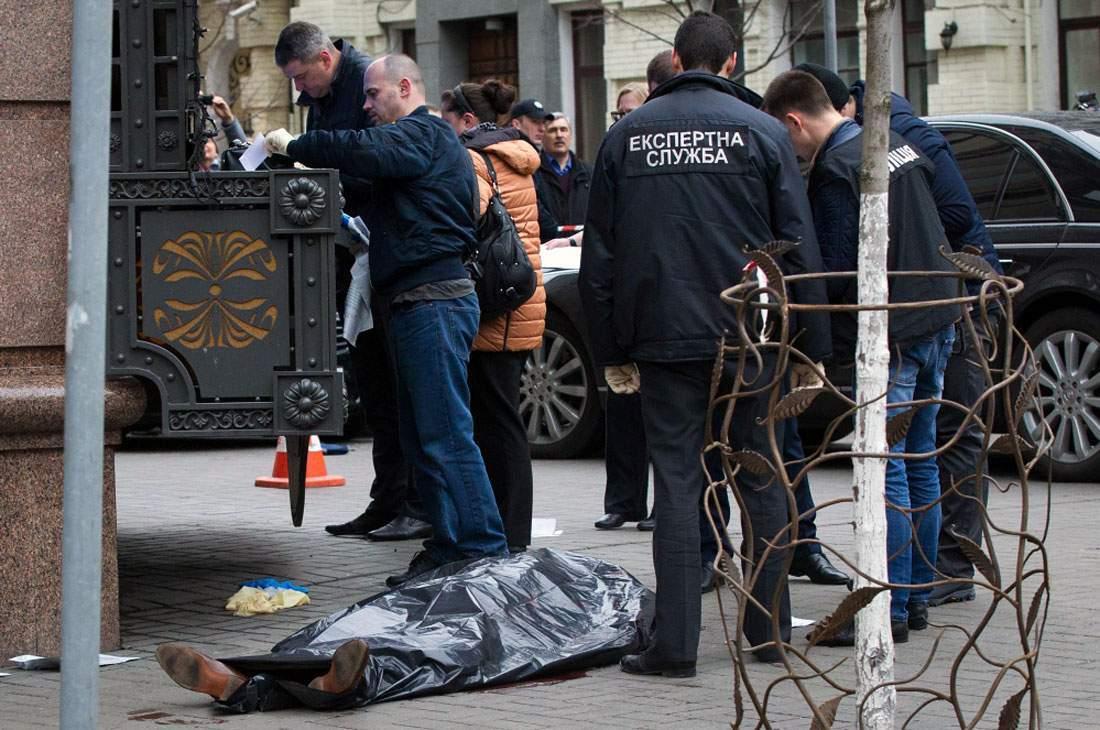 МВД Украины назвало имя убийцы экс-депутата Госдумы Дениса Вороненкова