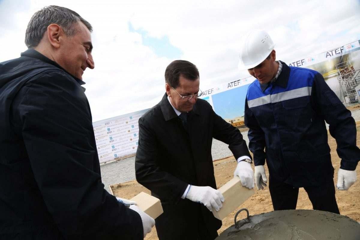 Два резидента ОЭЗ «Лотос» начали строить свои заводы