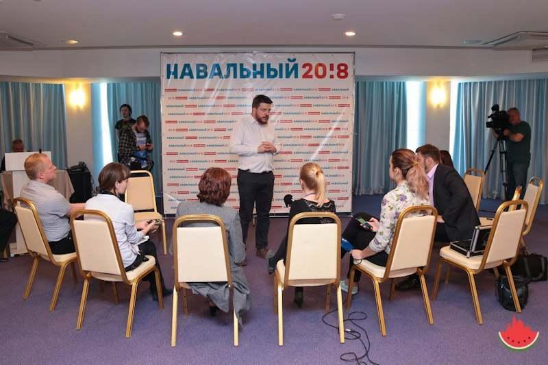 В Астрахани открылся штаб Алексея Навального