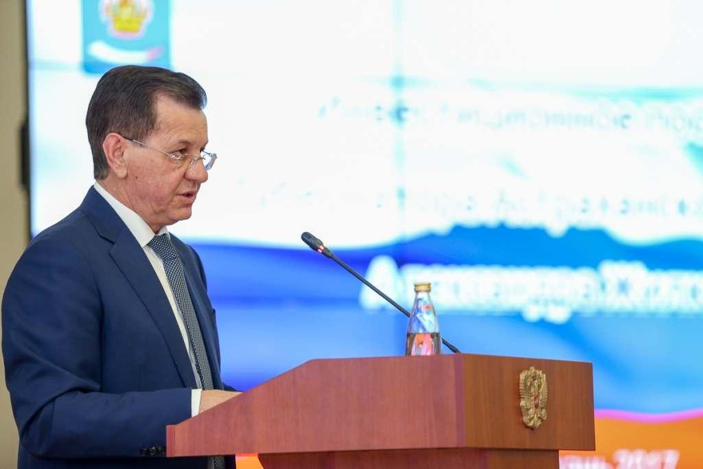 Александр Жилкин рассказал об успехах астраханского бизнеса в кризис