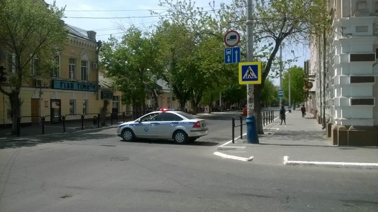 Центр Астрахани перекроют во вторник