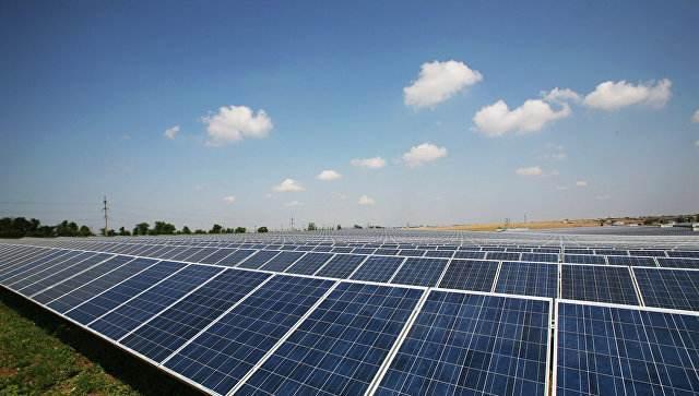 Строительство солнечной электростанции под Астраханью скоро закончат