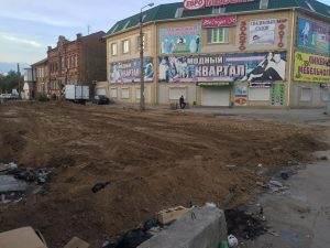 Улицу Каховского в Астрахани начали преображать