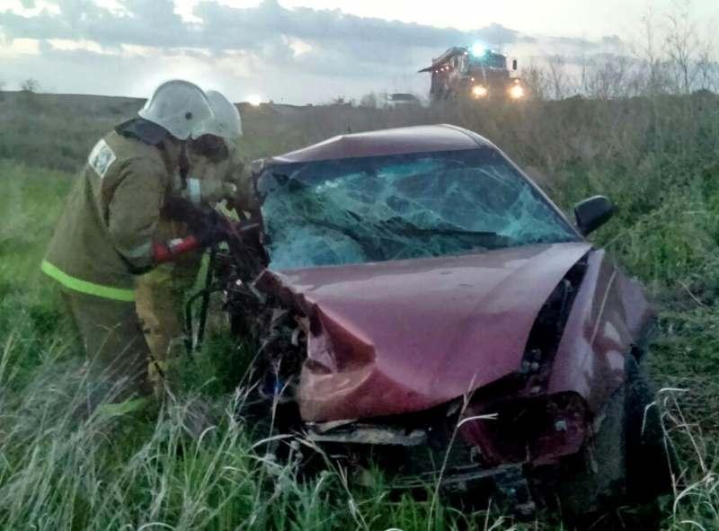 Под Астраханью в лобовом столкновении погибла пассажирка