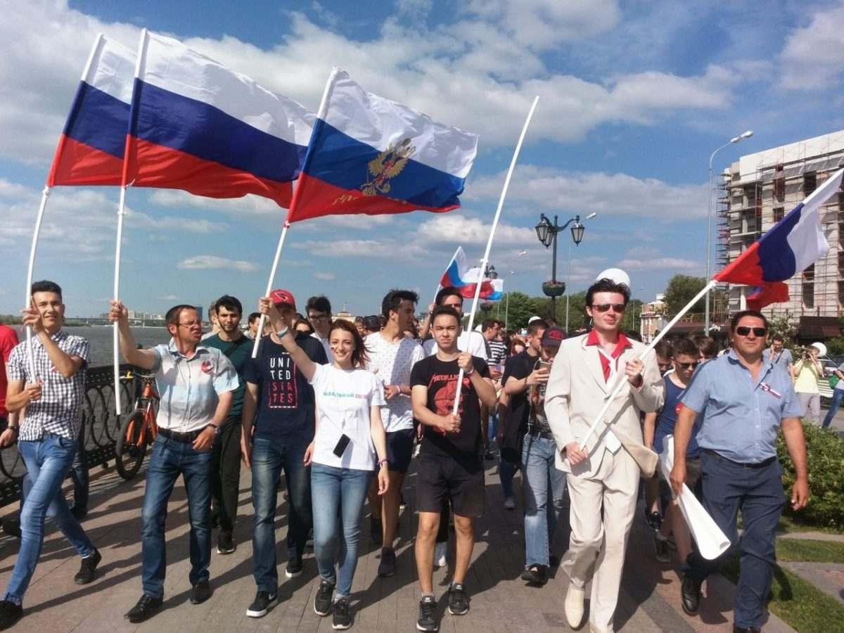 Сторонники Алексея Навального «погуляли» по Астрахани