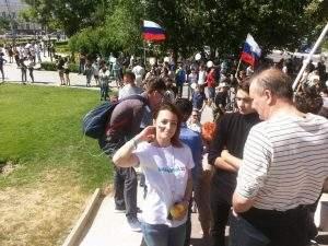 Астраханские оппозиционеры прогулялись без происшествий