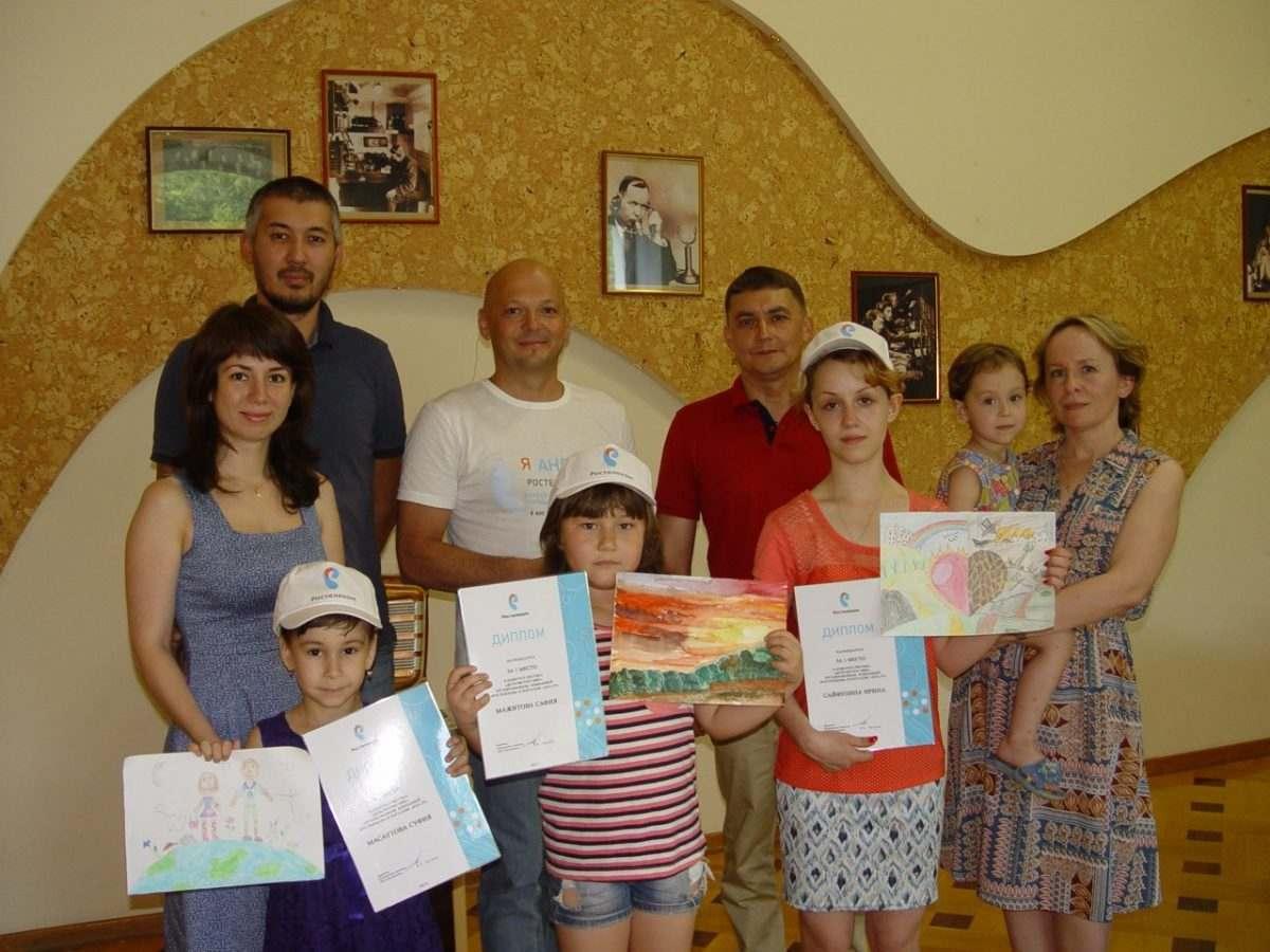 «Ростелеком» наградил в Астрахани победителей конкурса детского творчества