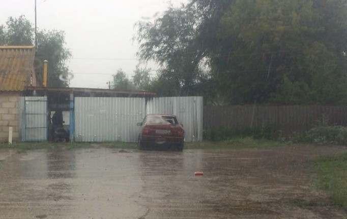 Дождь довел астраханца до угона