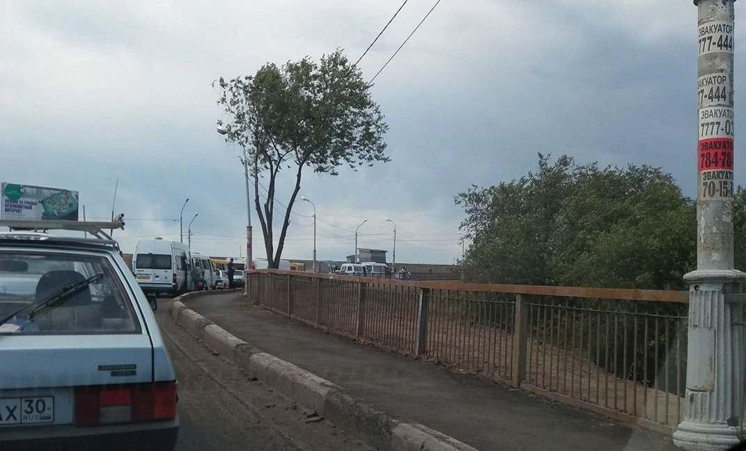 В четверг в Астрахани снова разведут Старый мост