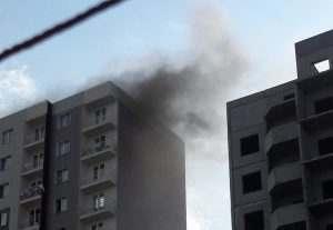 В многоэтажке на улице Нововосточной произошло возгорание