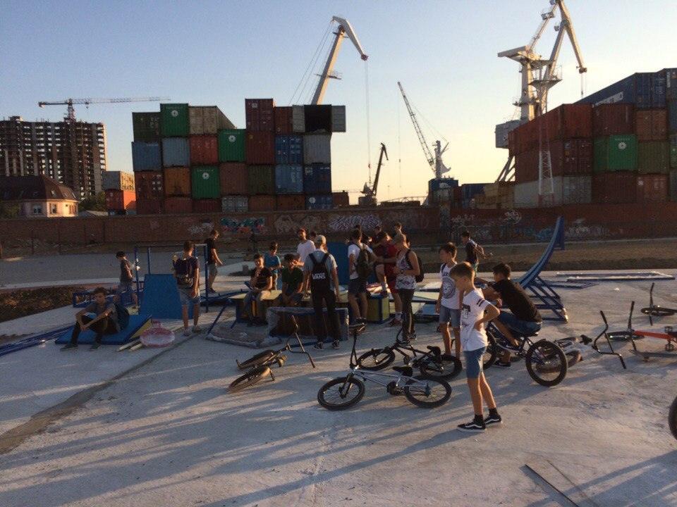 Астраханские экстремалы недовольны новым скейтпарком
