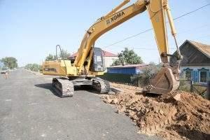В микрорайоне Казачий завершается реконструкция улицы Космонавта Комарова