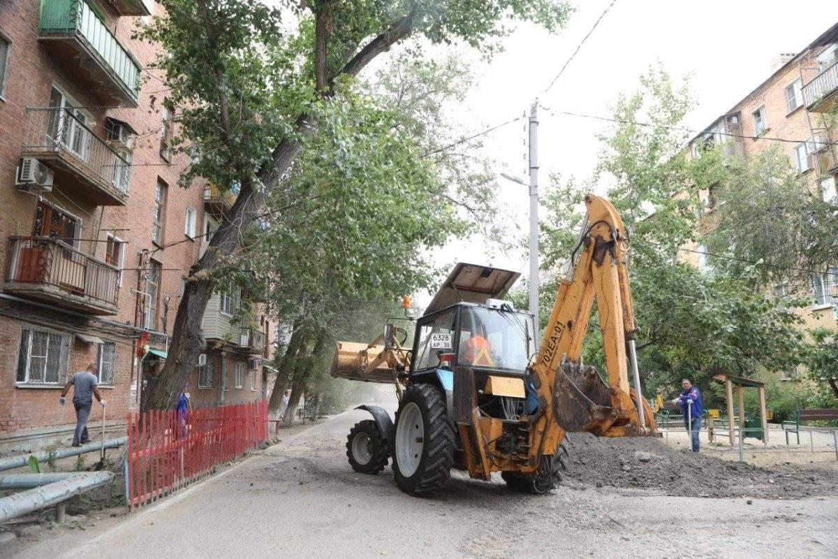 Астраханская область получит дополнительные деньги на благоустройство дворов