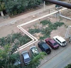 Астраханцы жалуются на «лысые» дворы