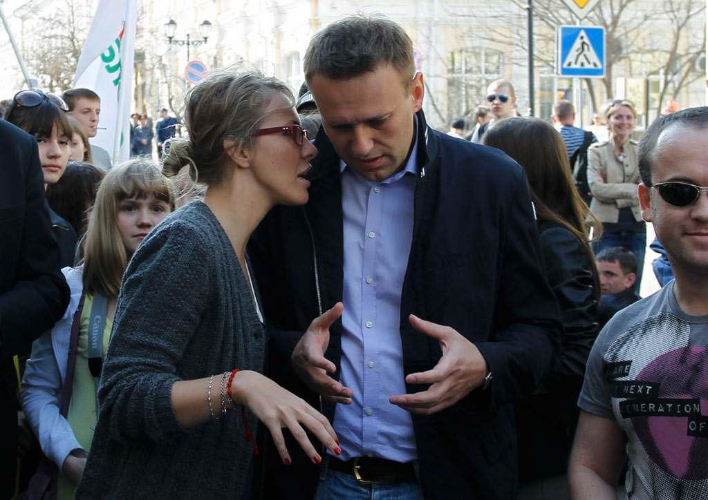 Ксения Собчак приезжала в Астрахань по просьбе Навального