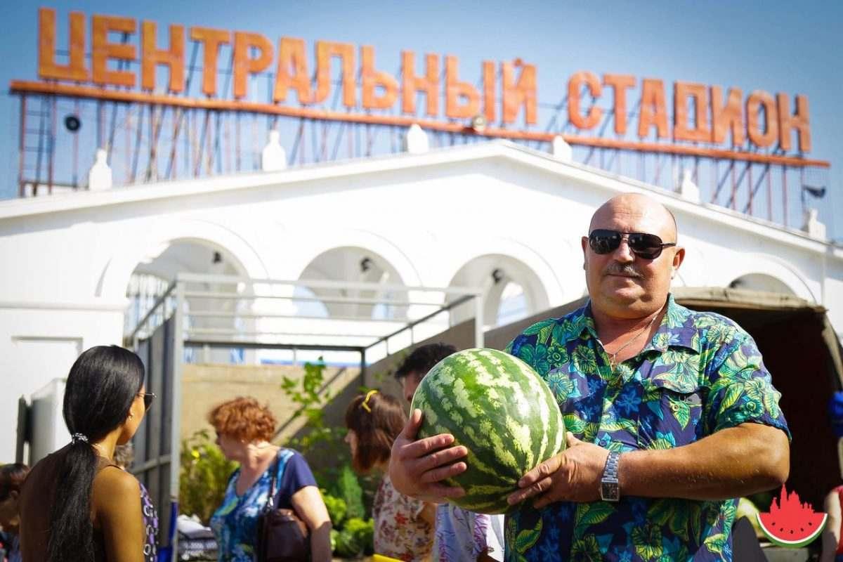 Как в Астрахани отметили «День арбуза»