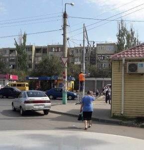 На улице Кубанской установили еще один светофор