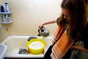 Отключение горячей воды в Астрахани перенесли