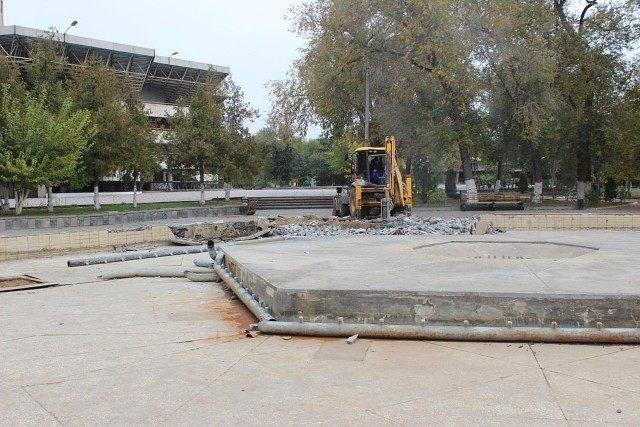 Ремонт в парке «Аркадия» завершат на месяц позже