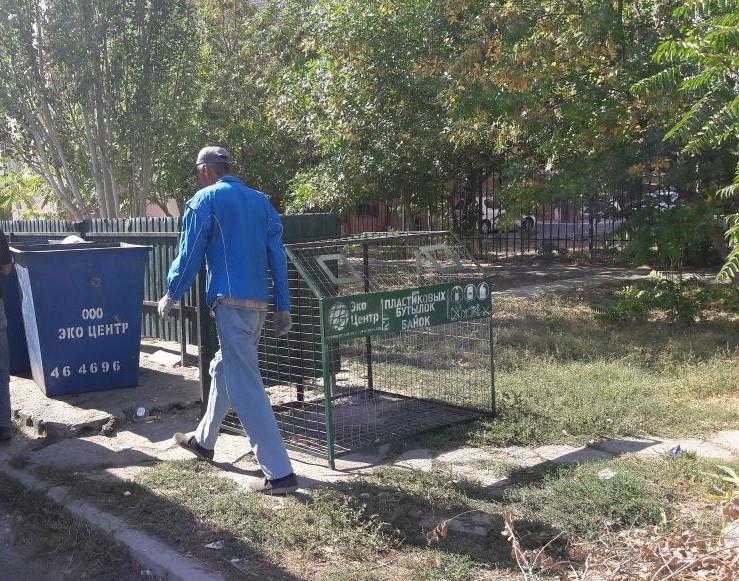 В Астраханской области началась масштабная работа по замеру мусора в жилой зоне