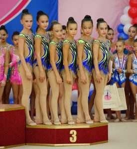 В Астрахань приехали гимнастки со всей России