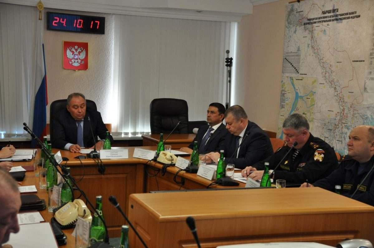 Оперативным штабом области проведены антитеррористические учения