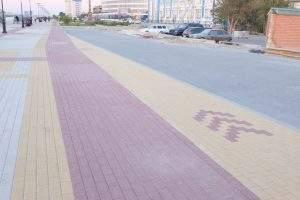 Велосипедная дорожка на Петровской набережной не оправдала ожиданий