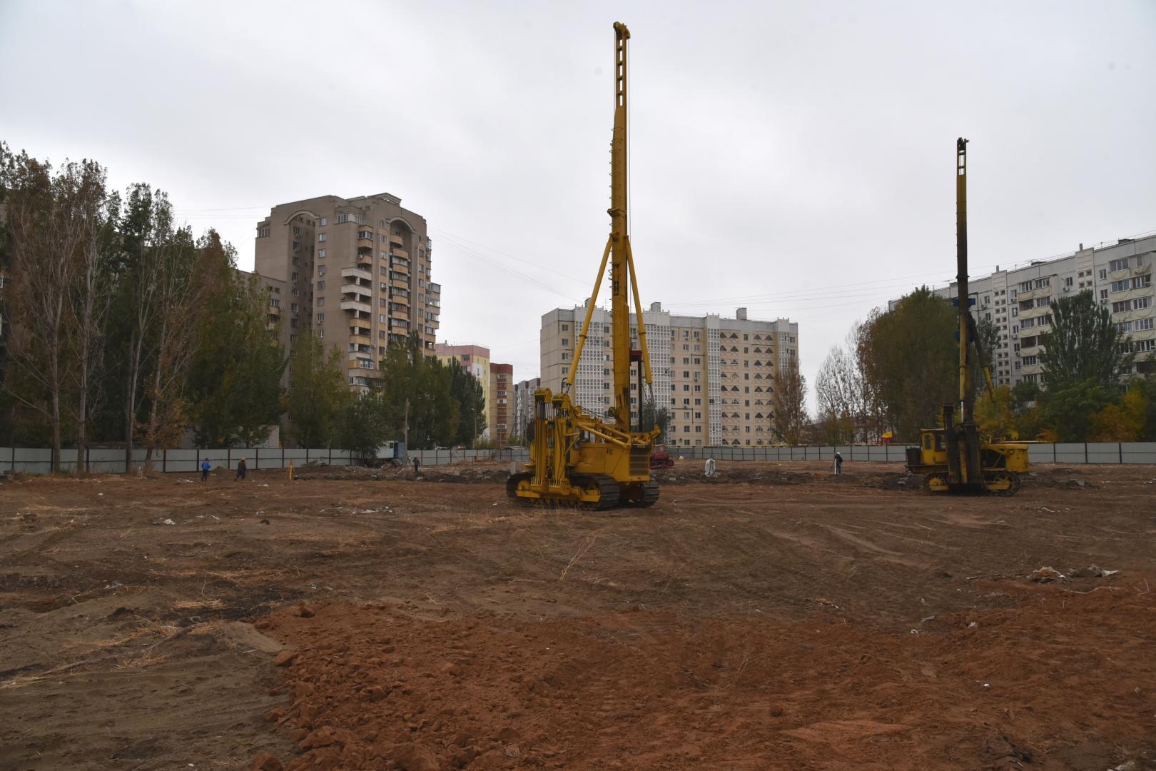 В микрорайоне Бабаевского строят детский сад
