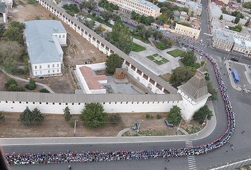 Астраханцы встанут в большой хоровод четвертого ноября