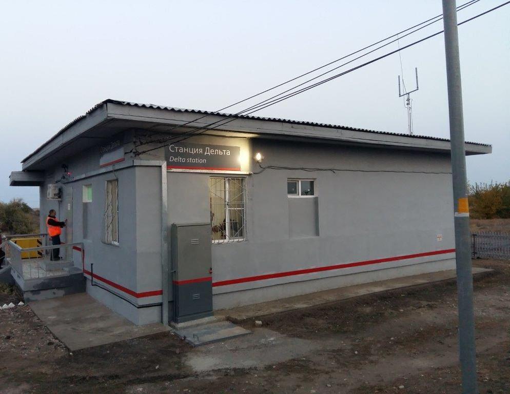 В Астраханской области отремонтировали ж\д станции