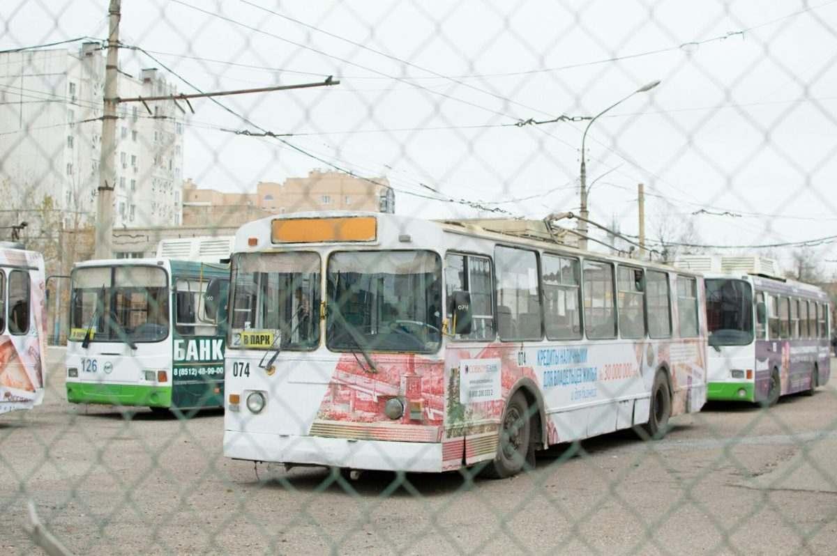 Вернуть троллейбусы попросили у депутатов Думы Астраханской области