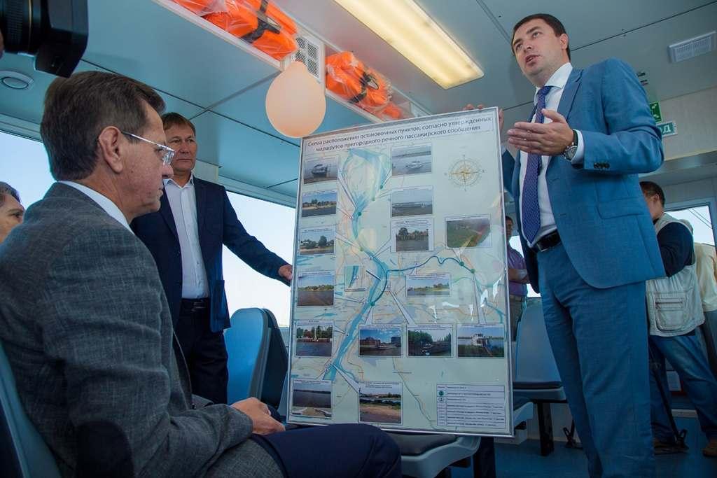 Речные трамвайчики «Астраханец» продолжают дорожать