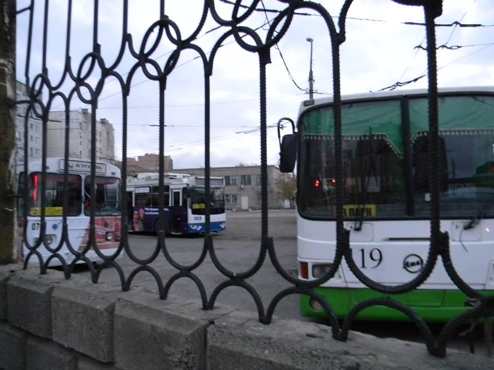 Астрахань: неделя без троллейбуса