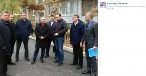 Астраханские депутаты Госдумы благоустраивают дворы Ларнаки (Кипр)