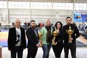 В Астрахани прошел турнир по греко-римской борьбе