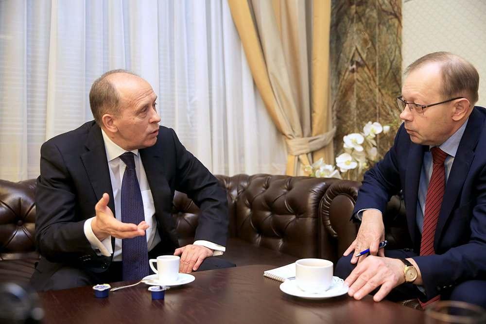 Органам безопасности исполнилось 100 лет: интервью «Российской Газеты» с директором ФСБ