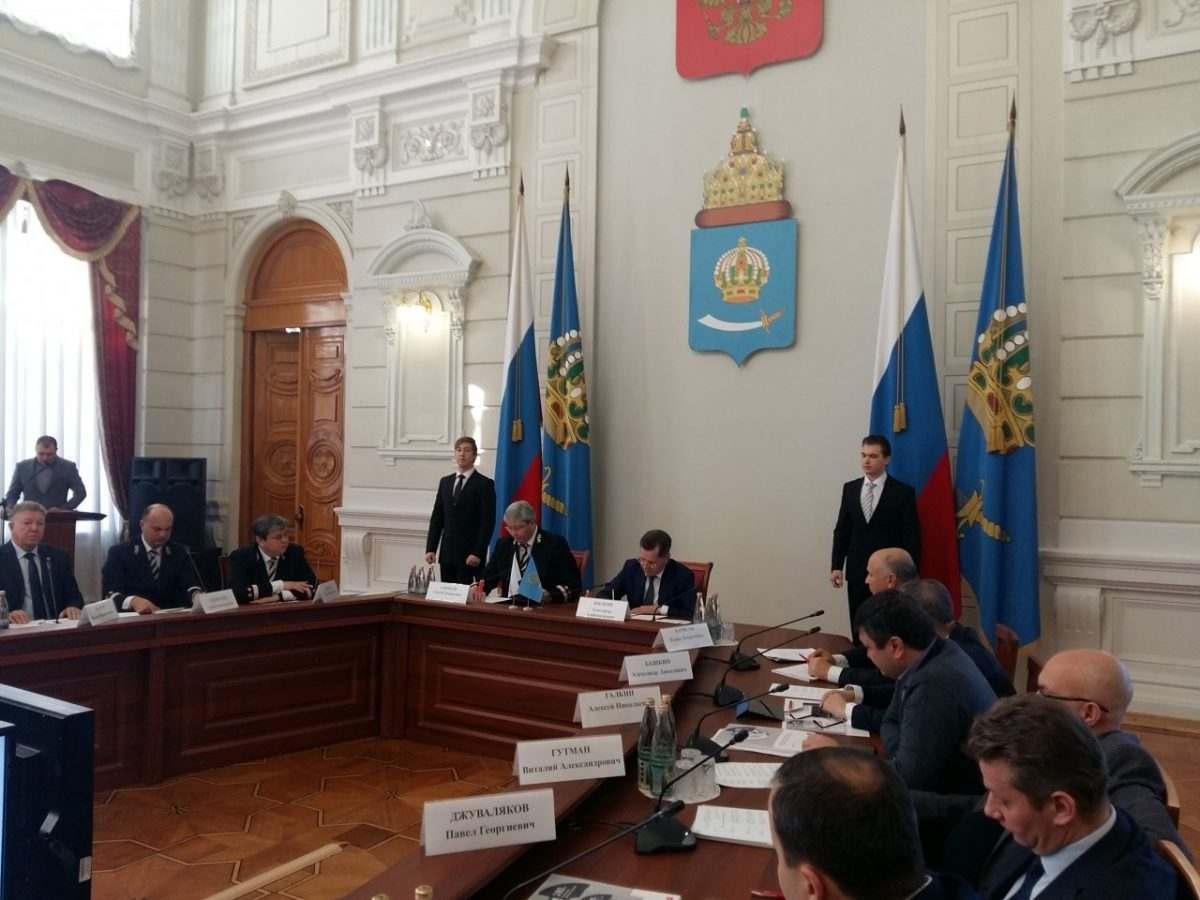 ОАО «РЖД» и астраханское правительство подписали соглашение о взаимодействии