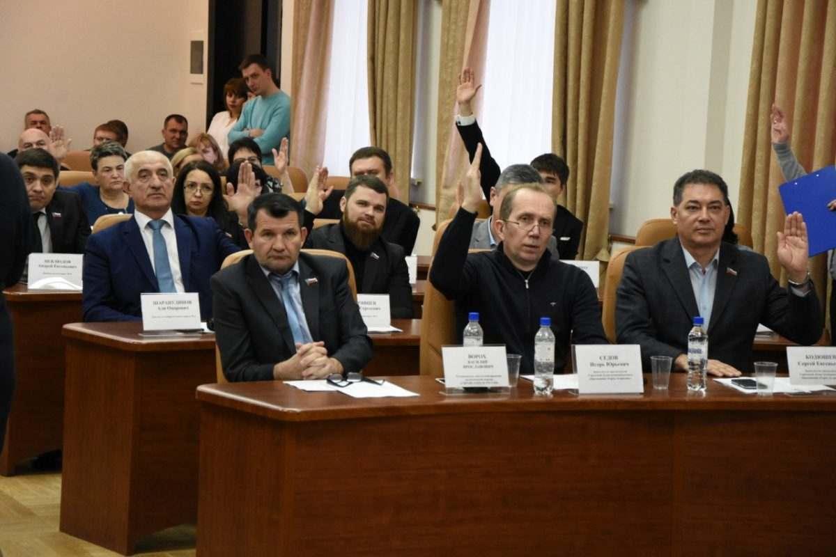 Бюджет Астрахани на 2018 год принят депутатами