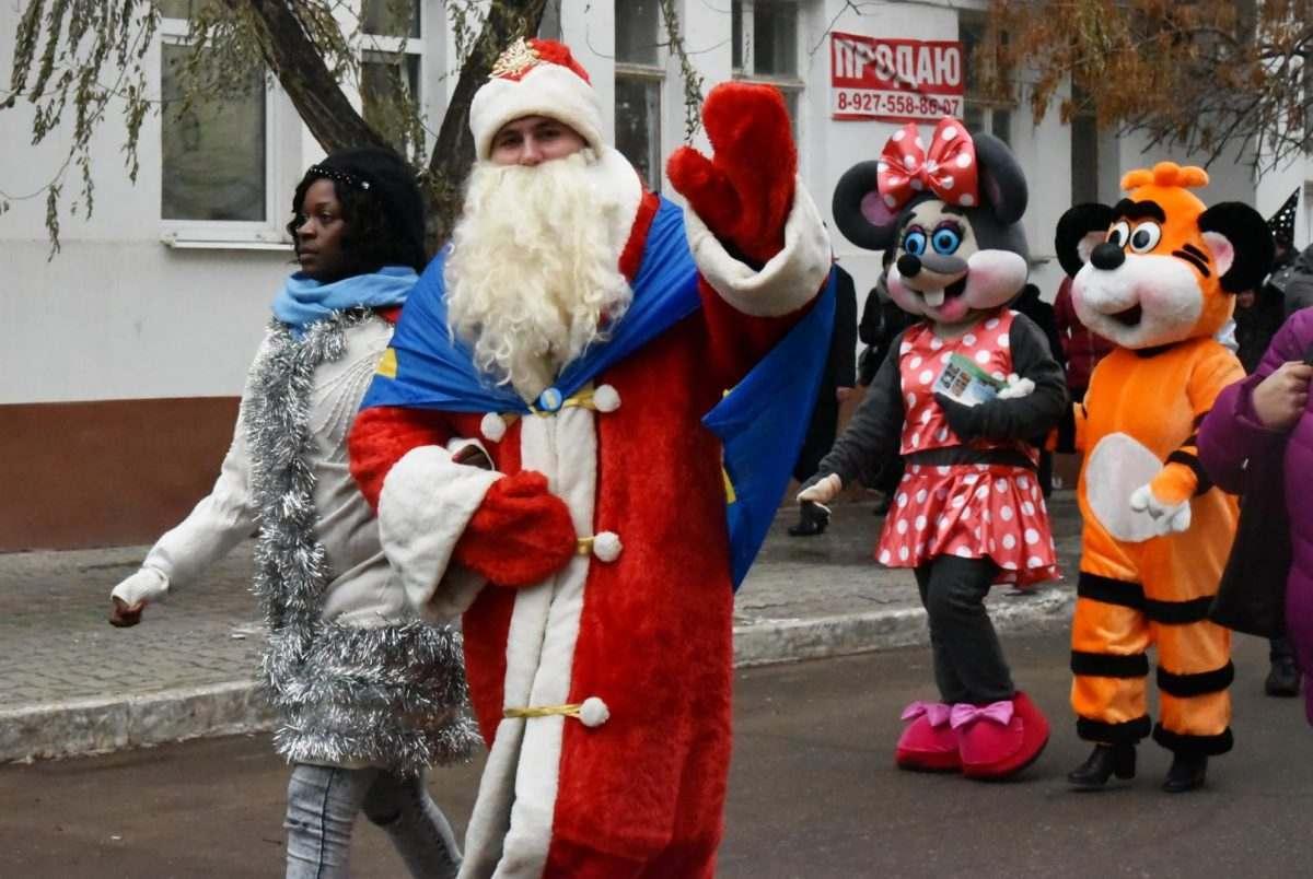 Расписание новогодних гуляний в Астрахани