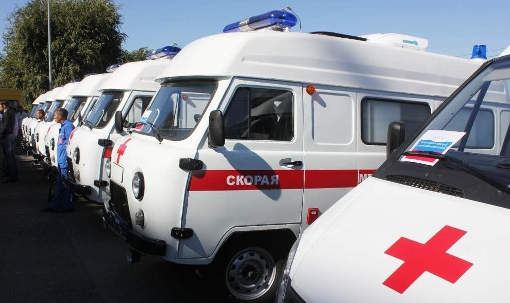 Новые машины cкорой помощи поступили в Астраханскую область