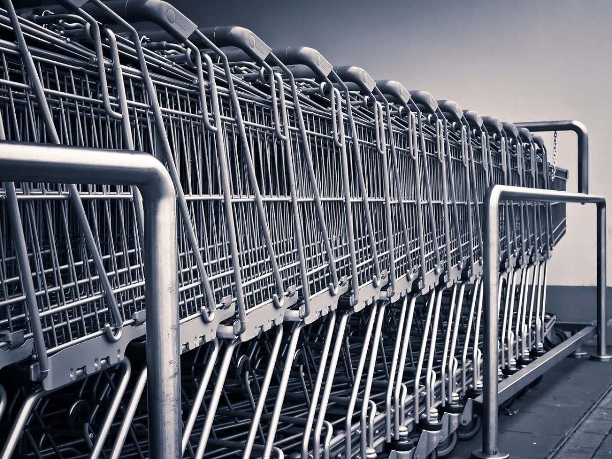 тележки супермаркет