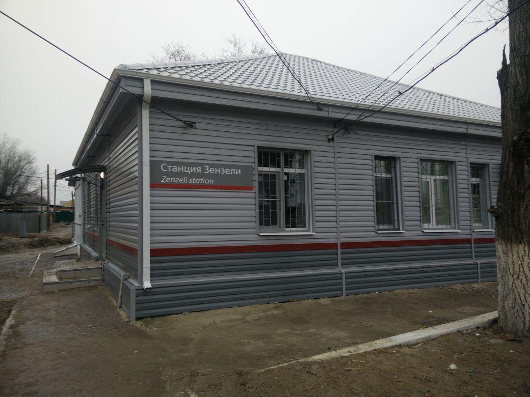 В Астраханской области отремонтировали железнодорожную станцию