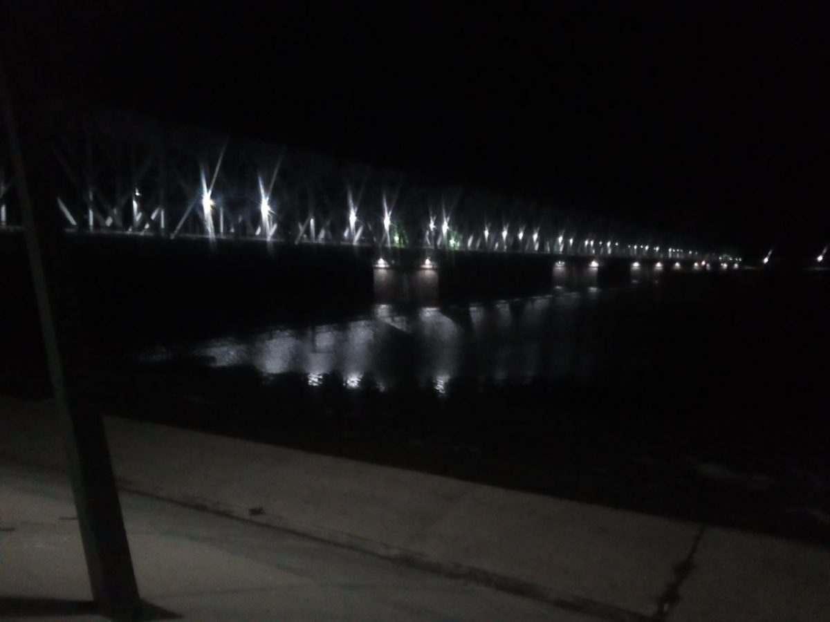 Три астраханских железнодорожных моста теперь со светодиодным освещением