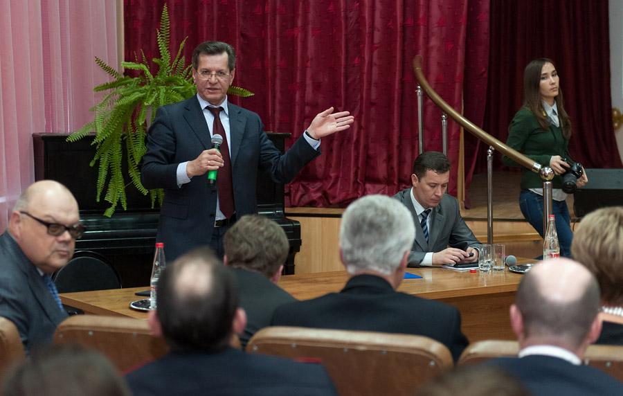 Александр Жилкин обещал астраханцам процветающий регион