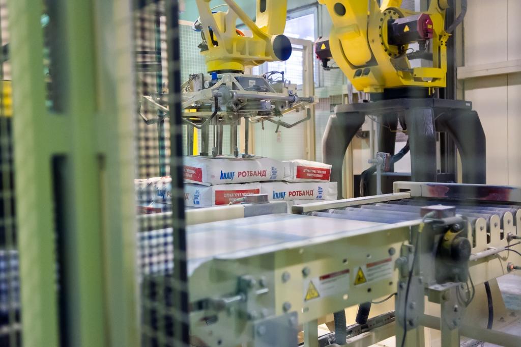 «Кнауф гипс Баскунчак» на треть нарастил производство строительных смесей